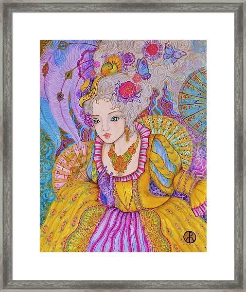 Marie Antinette Framed Print