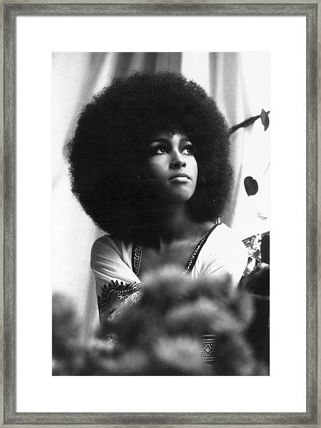 Marsha Hunt Framed Print