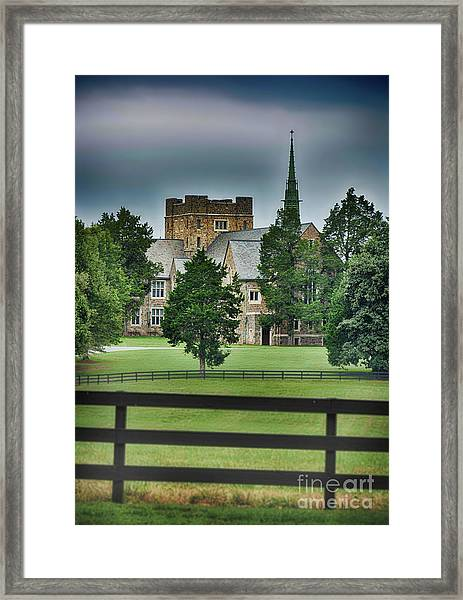 Mary Hall, Berry College Framed Print