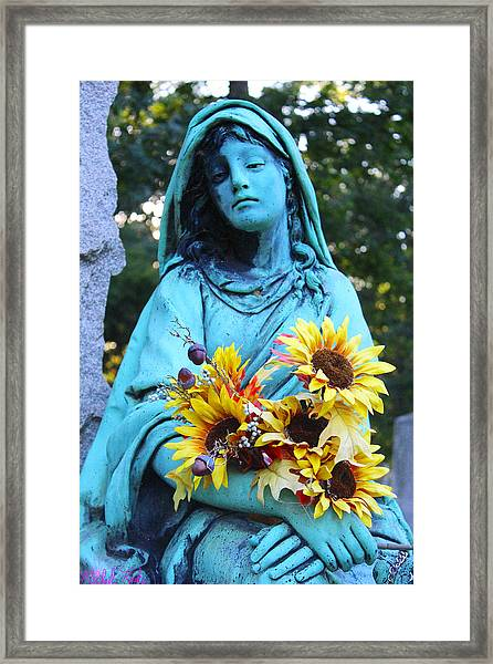 Mary, Mother Of Jesus Framed Print