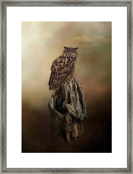 Master Of The Forest Framed Print