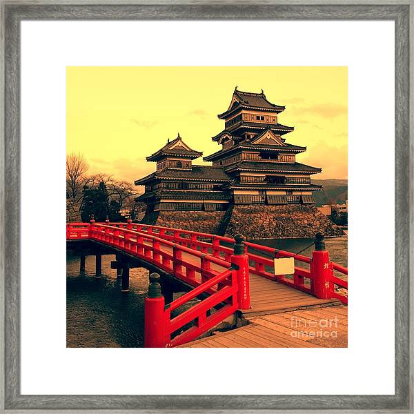 Matsumoto Castle, Japan Framed Print