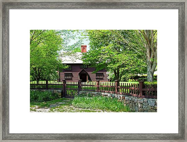 Matthew Whipple House Framed Print