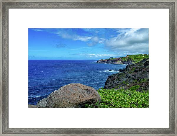 Maui Coast II Framed Print