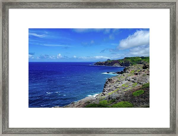 Maui Coast Framed Print