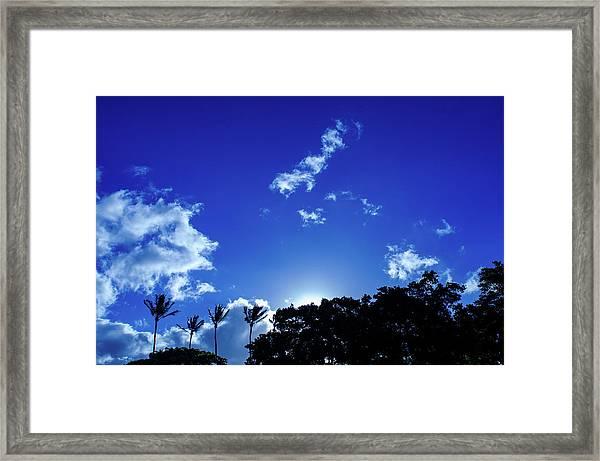 Maui Sky Framed Print