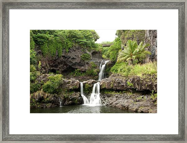 Maui&8217s Seven Sacred Pools Framed Print