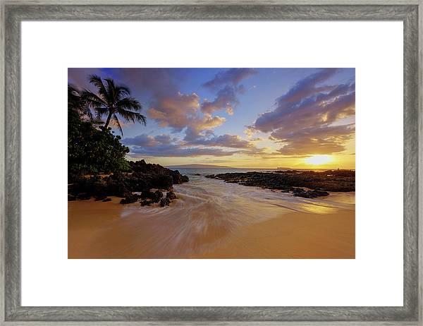 Maui's Way Framed Print