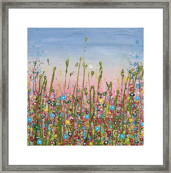 May Bee Framed Print