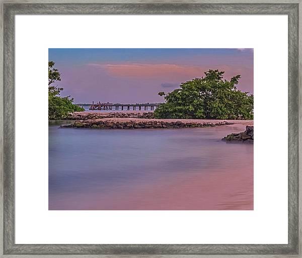 Mayan Shore Framed Print