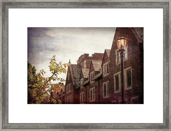 Mayslake Historic Home Framed Print