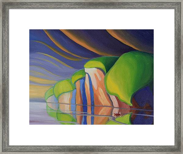 Mazinaw Rock I Framed Print