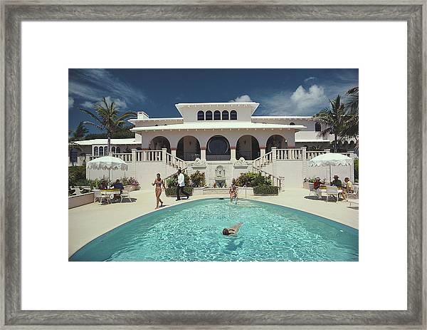 Mcmartin Villa Framed Print by Slim Aarons