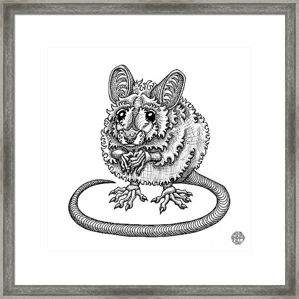 Meadow Jumping Mouse Framed Print
