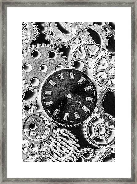 Mechanical Machines Framed Print