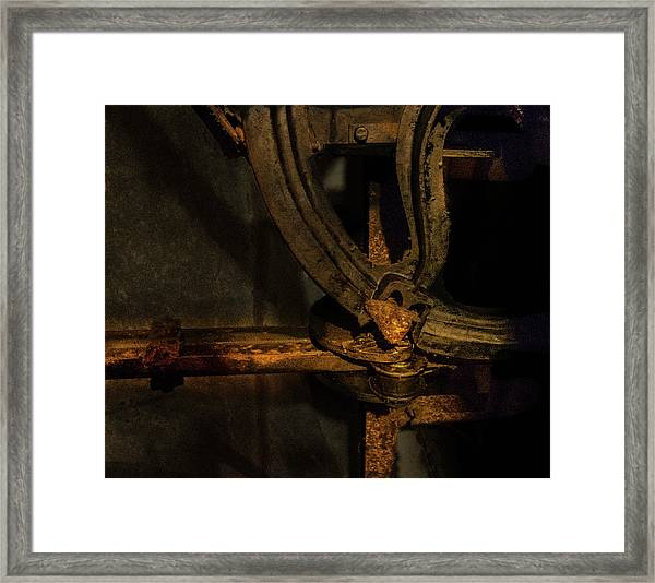Framed Print featuring the photograph Mechanism by Juan Contreras