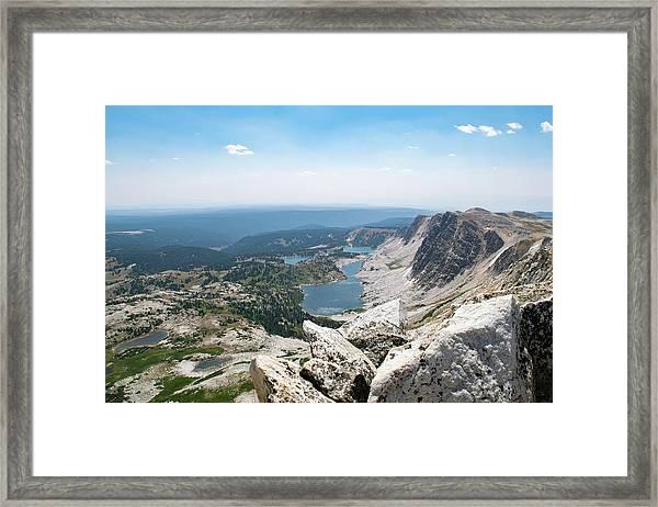 Medicine Bow Peak Framed Print