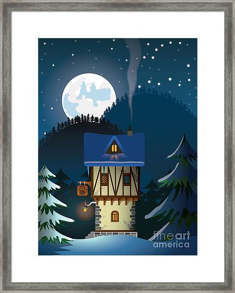 Medieval House Framed Print
