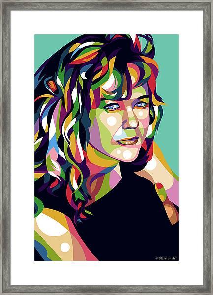 Meg Ryan Framed Print