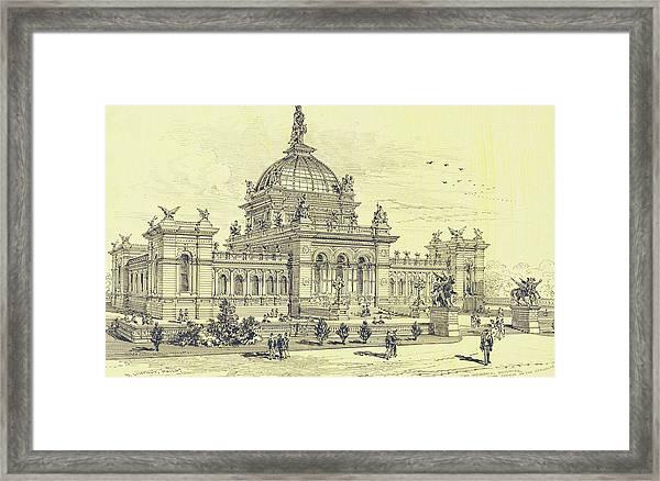 Memorial Hall, Centennial Framed Print