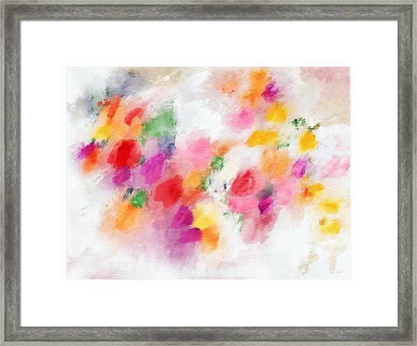Memories Of Summer- Art By Linda Woods Framed Print