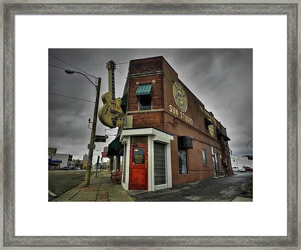Memphis - Sun Studio 004 Framed Print
