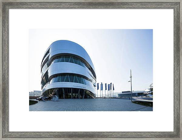 Mercedes Benz Museum, Stuttgart, Germany Framed Print