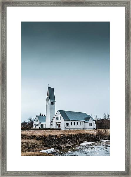 Mercy Is Song Framed Print