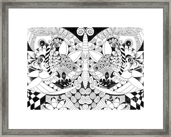 Metamorphosis Arrangement 1 Framed Print