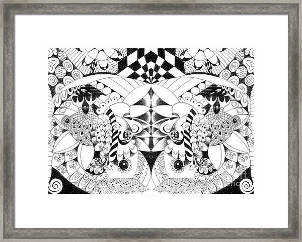 Metamorphosis Arrangement 3 Framed Print