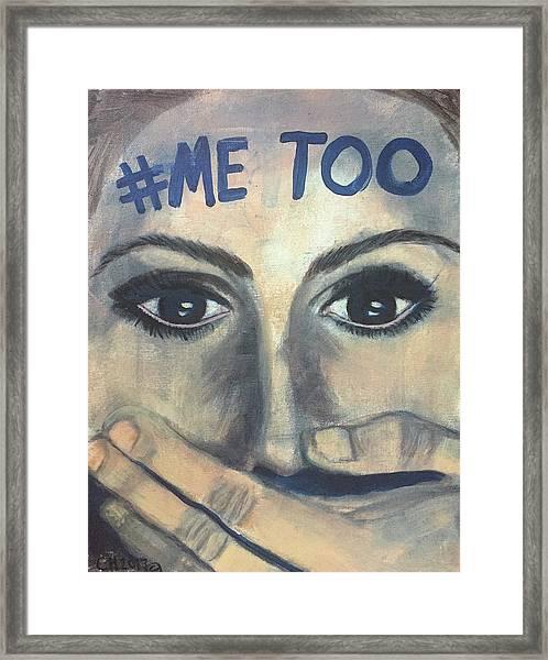 #me_too Framed Print