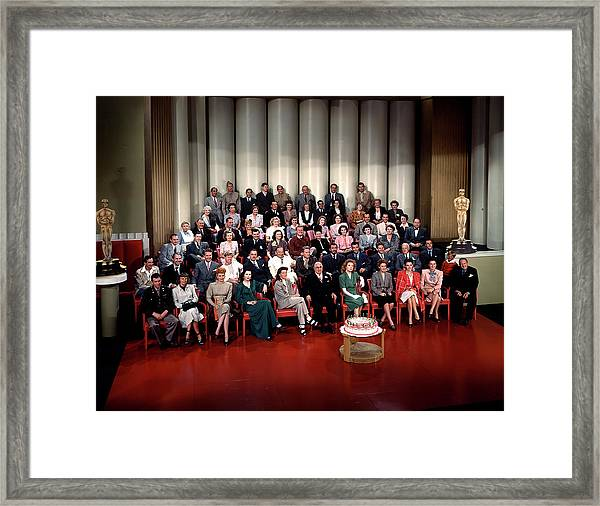 Mgms 20th Anniversary Framed Print