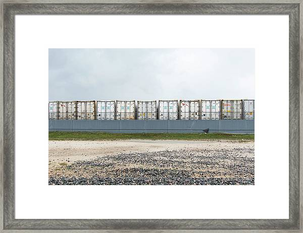 Miami Topographics 15 Framed Print