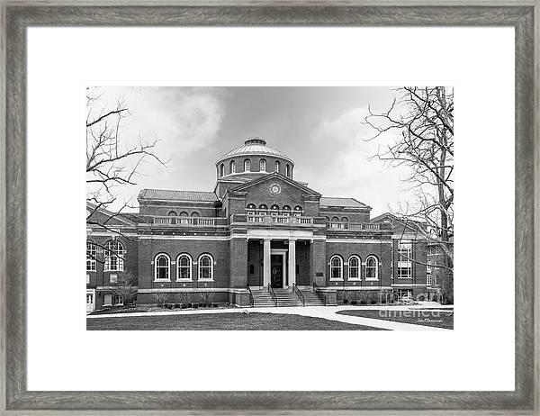 Miami University Alumni Hall Framed Print