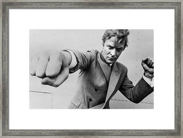 Michaels Fists Framed Print