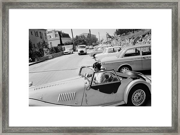 Micks Morgan Framed Print