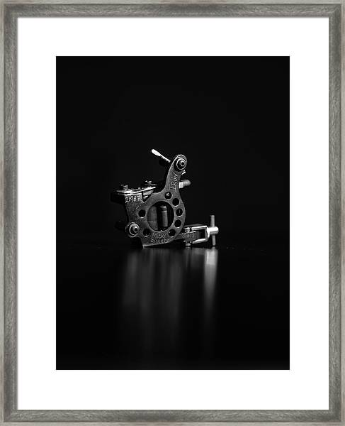 Micky Sharpz Framed Print