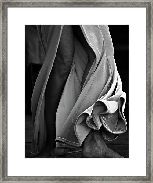 Framed Print featuring the photograph Mideastern Dancing 2 by Catherine Sobredo