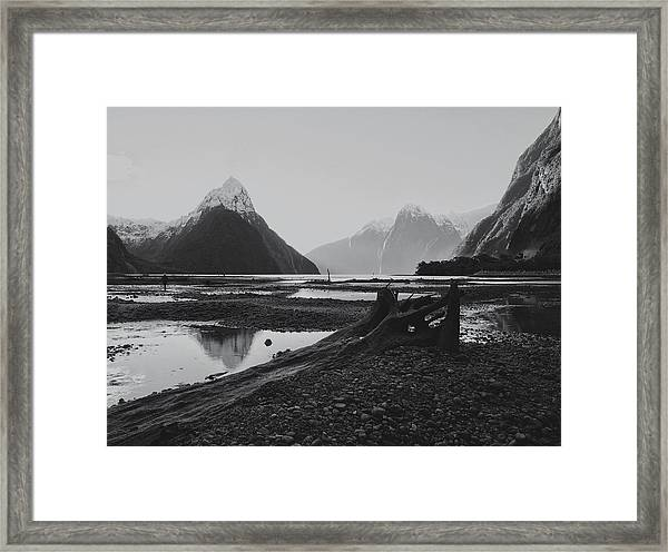 Milford Sound  Framed Print