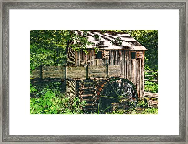 Mill At Cades Cove Framed Print