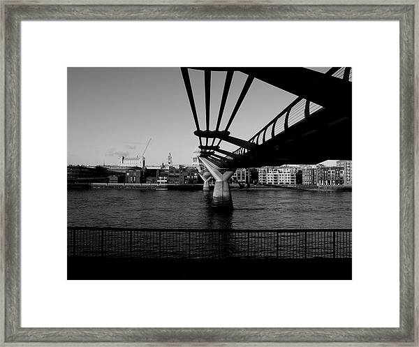 Millennium Bridge  Framed Print