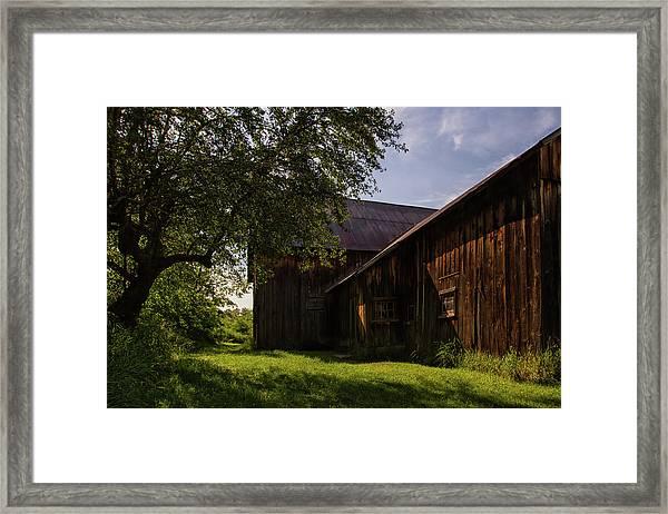 Miller Barn 1 Framed Print