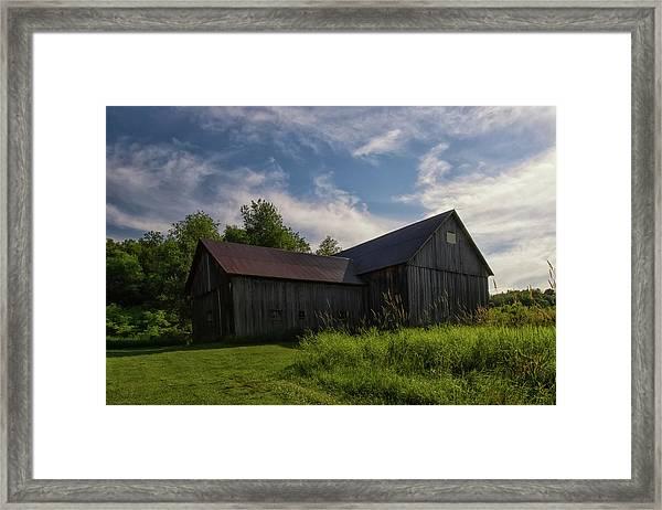 Miller Barn 5 Framed Print