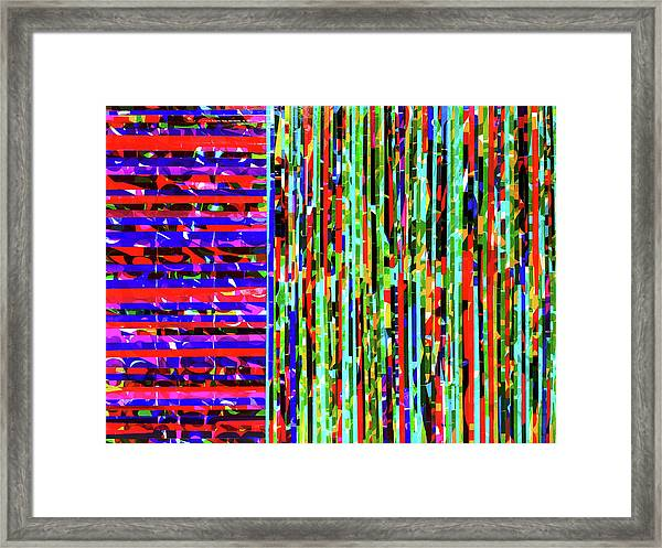 Mine And Yours Framed Print by Color Bliss