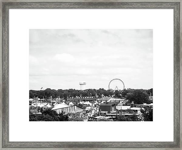 Minnesota State Fair Framed Print
