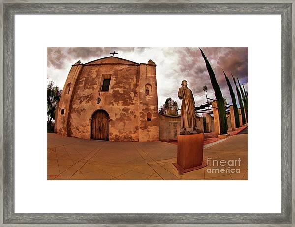 Mission San Gabriel San Gabriel Ca Framed Print