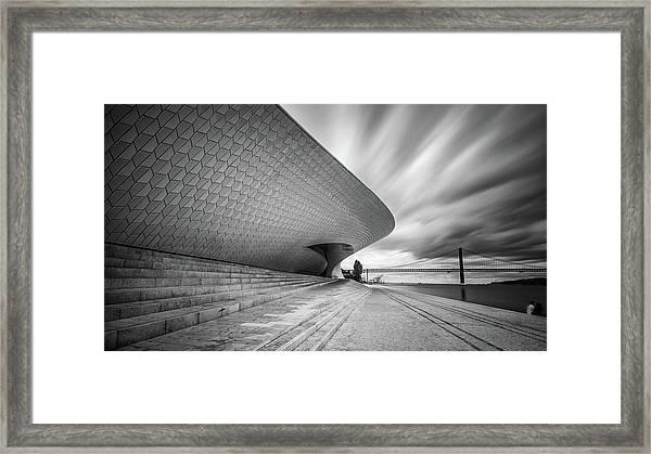 Modern Architectural Details Framed Print