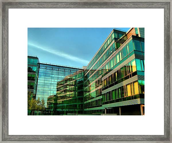 Modern Architecture In Vienna Framed Print
