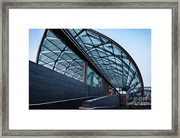 Modern Architecture Shell Framed Print
