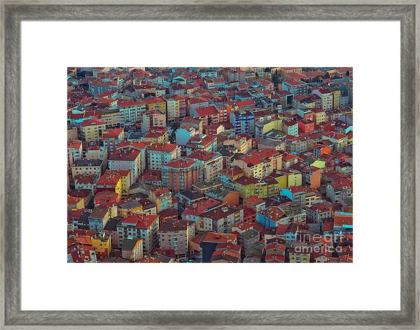 Modern Buildings Of The City - Urban Framed Print